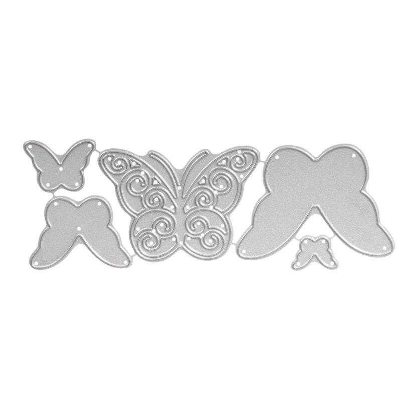 rayher stanzschablonen set whimsical butterflies 1 3 4 5cm 5 st ck monisbastelkiste. Black Bedroom Furniture Sets. Home Design Ideas