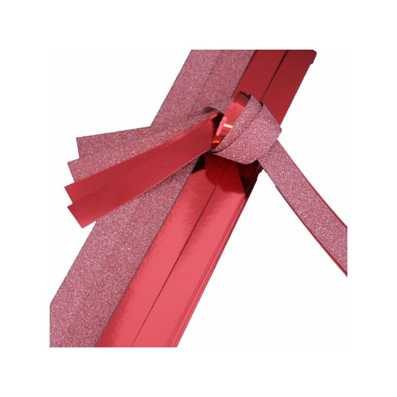 fr belsterne papierstreifen rot metallic glitter 20 streifen 25mm x 700mm monisbastelkiste. Black Bedroom Furniture Sets. Home Design Ideas