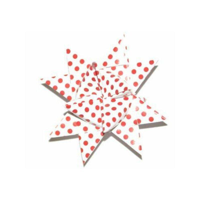fr belsterne papierstreifen weiss rot gelackt 36 streifen 25mm x 700mm monisbastelkiste. Black Bedroom Furniture Sets. Home Design Ideas