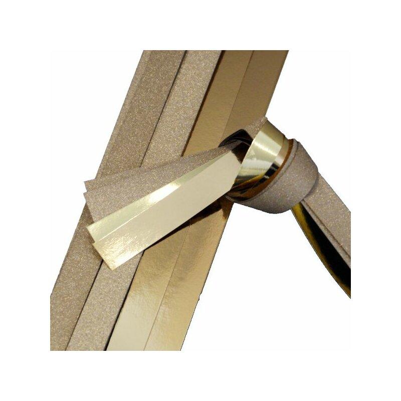 fr belsterne papierstreifen gold metallic glitter 12 streifen 50mm x 1300mm monisbastelkis. Black Bedroom Furniture Sets. Home Design Ideas
