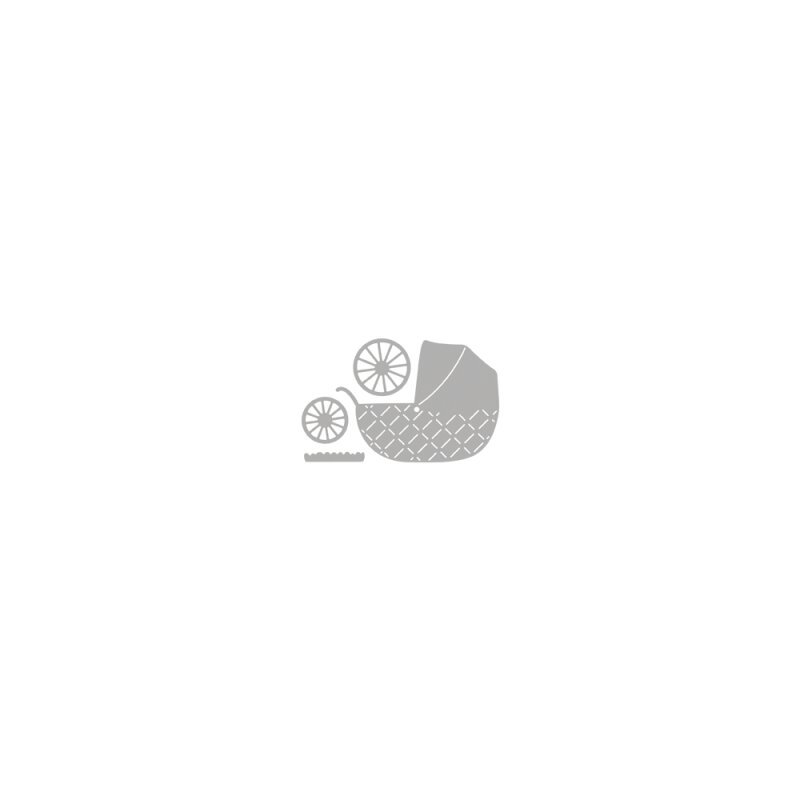 rayher stanzschablone baby pram 7 2x7 9cm 4 teile monisbastelkiste. Black Bedroom Furniture Sets. Home Design Ideas
