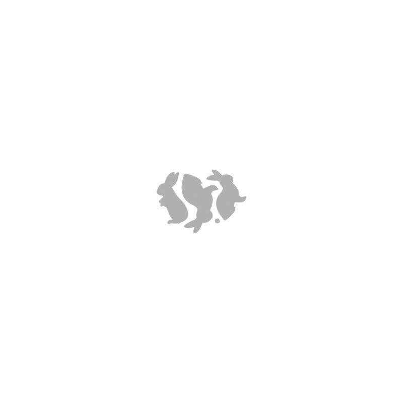 rayher stanzschablone easter bunnies 9 7x4 6cm 4 teile monisbastelkiste. Black Bedroom Furniture Sets. Home Design Ideas