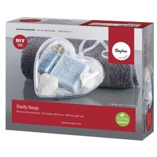 Bastelpackung: Daily Soap - Wellness Geschenkset, für 4 Seifen Artikel