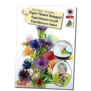 Karen Marie Klip: 3D Flower Bouquet, Instruktion & Ideas