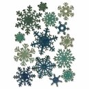 SIZZIX Thinlits Die Set 14PK - Paper Snowflakes, Mini,...