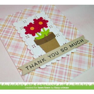 Lawn Fawn, clear stamp, simply sentiments