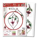 Quilling Template, Fuchsia