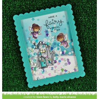 Lawn Fawn, lawn cuts/ Stanzschablone, frosty fairy friends