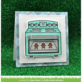 Lawn Fawn, clear stamp, sprinkled with joy