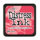 Tim Holtz, Ranger Distress Mini Ink pad, festive berries