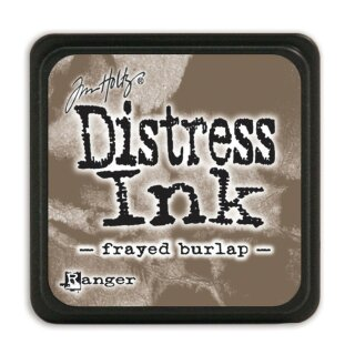 Tim Holtz, Distress mini Ink, 25x25mm, frayed burlap