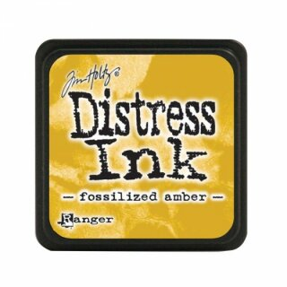 Tim Holtz, Distress mini Ink, 25x25mm, fossilized amber