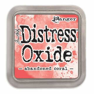 Tim Holtz, Distress Oxide, 76x76mm, abandoned coral