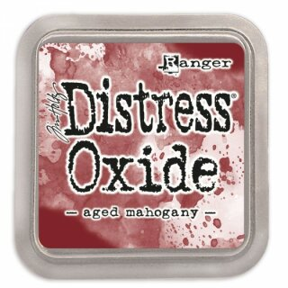 Tim Holtz, Distress Oxide, 76x76mm, aged mahogany