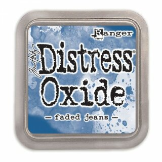 Tim Holtz, Ranger Distress Oxide Pad, faded jeans
