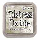 Tim Holtz, Distress Oxide, 76x76mm, frayed burlap
