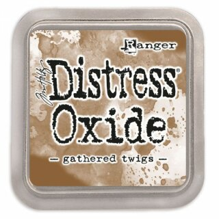 Tim Holtz, Ranger Distress Oxide Pad, gathered twigs
