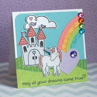 Lawn Fawn, clear stamp, critters ever after