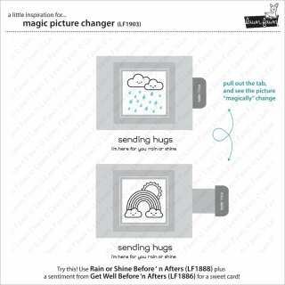 Lawn Fawn, lawn cuts/ Stanzschablone, magic picture changer