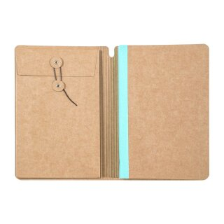 journal stamp book A5, 48 Seiten á 240g
