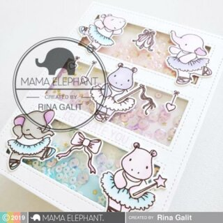 Mama Elephant, Creative Cuts/ Stanzschablone, Shall We Dance