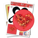Quilling Template, Heart - Art Quilling