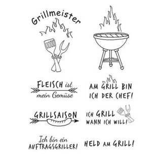 Stempel Clear, Grillmeister, A7