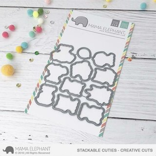 Mama Elephant, Creative Cuts/ Stanzschablone, Stackable Cuties