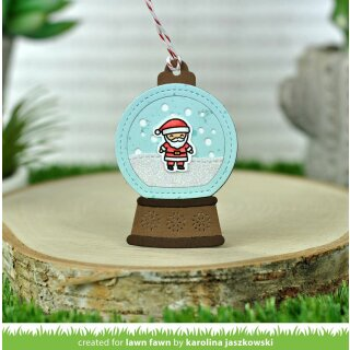 Lawn Fawn, clear stamp, tiny christmas