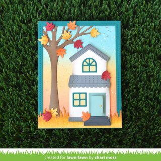 Lawn Fawn, lawn cuts/ Stanzschablone, build-a-house