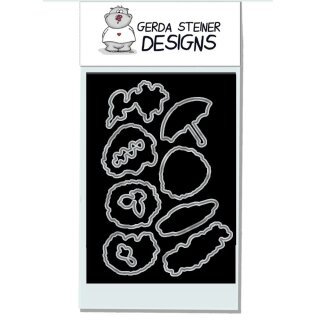 Gerda Steiner Designs, Cheerful Hedgehog 4x6 Die
