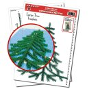 Quilling Template, The Vintage Christmas Tree Extra Template