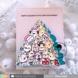 Mama Elephant, Creative Cuts/ Stanzschablone, Oh Puppy Tree