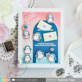 Mama Elephant, clear stamp, Handcrafted Happiness