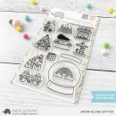 Mama Elephant, clear stamp, Snow Globe Bitties