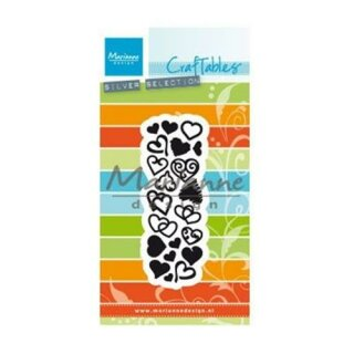 Marianne Design Stanzschablone Craftables, Sweet Hearts CR1460