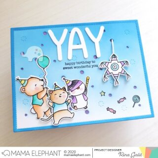 Mama Elephant, Creative Cuts/ Stanzschablone, Whimsy Alphas