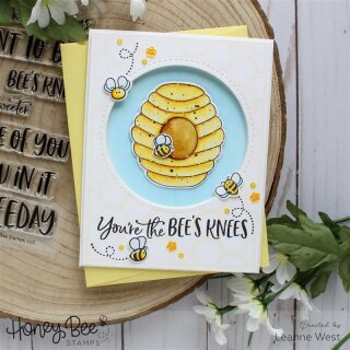 Honey Bee Stamps, Honey Cuts/ Stanzschablone, Bee Hive