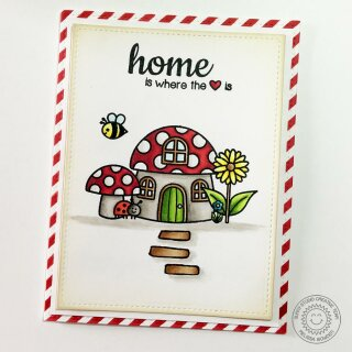 Sunny Studio Stamps, clear stamp, Backyard Bugs