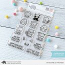 Mama Elephant, clear stamp, Stackable Friends