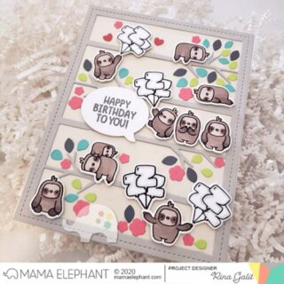 Mama Elephant, Creative Cuts/ Stanzschablone, Tree Branch Cover