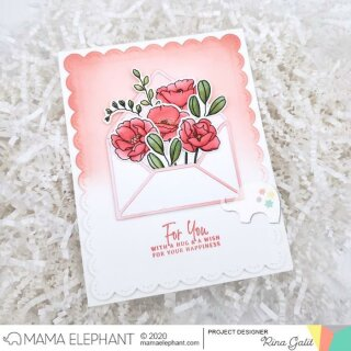 Mama Elephant, Creative Cuts/ Stanzschablone, Stems and Sprigs