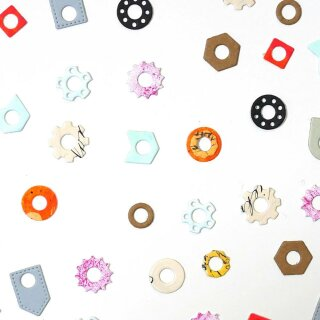 Elizabeth Craft Designs, Cutting Dies / Stanzschablonen, Reinforcement Variety Pack