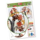Quilling Template, Fall Tree/ Herbst Baum
