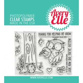 Avery Elle, clear stamp, Look How Big
