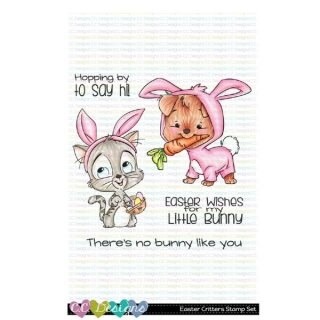 C.C. Designs, clear stamp, Easter Critters