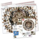 Quilling Template Lion Mandala Art Quilling