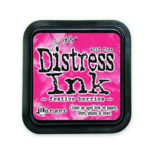 Tim Holtz, Ranger Distress Ink pad, festive berries