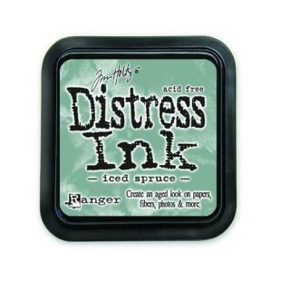 Tim Holtz, Ranger Distress Ink pad, iced spruce