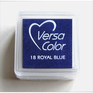 Versa-Color Pigment-Stempelkissen 25 x 25mm 18 Royal Blue